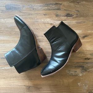 Black The Root Collective Ankle Boots